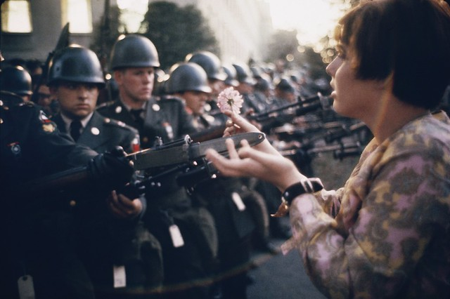 Washington DC, by Marc Riboud 1967