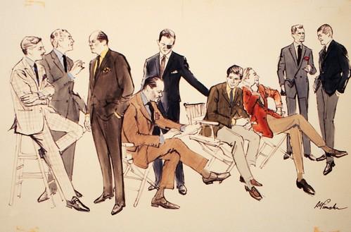 Fashion Illustration by Alvin Pimsler