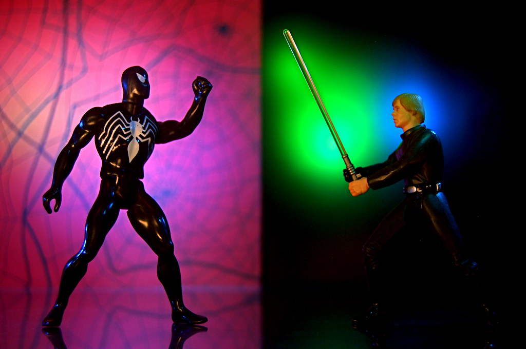 Spider-Man vs. Luke Skywalker (192/365)