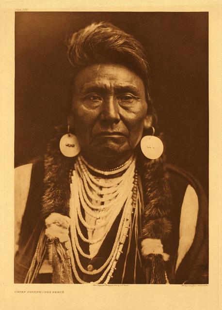 Chief Joseph (Nez Perce), by Edward S. Curtis 1903