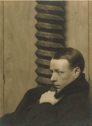 Sinclair Lewis, by Man Ray 1922