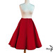 Hey Viv ! Red Circle Skirt