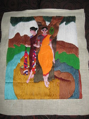 tapestry, art, textile, patchwork, quilting,