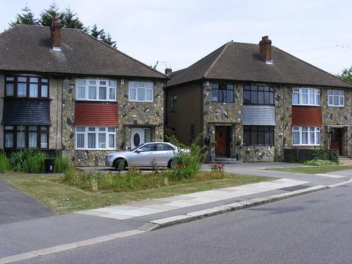 A typical suburban UK street