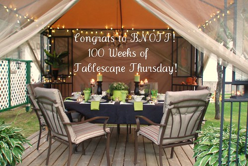 Dining Delight: 100 Totally Terrific Weeks of Tablescape ...