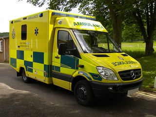 South Central Ambulance Service - Mercedes-Benz Sprinter with WAS bodywork, location can't be disclosed; 2010.
