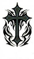 Tattoo Salib