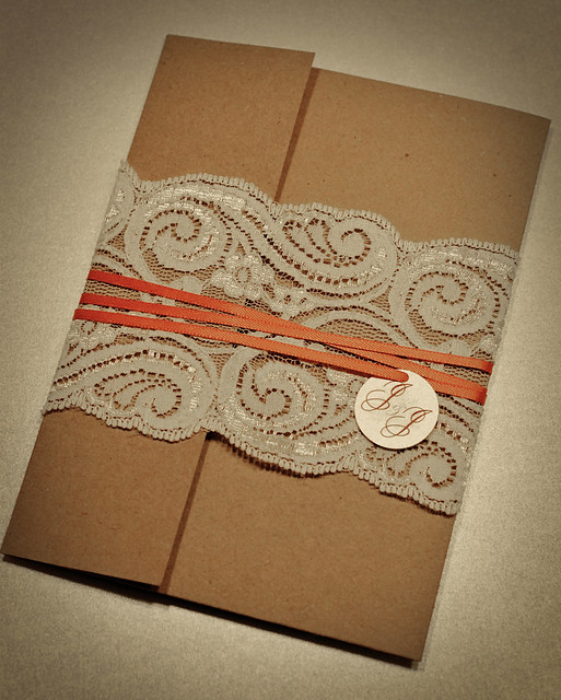 explore lace wedding invitations