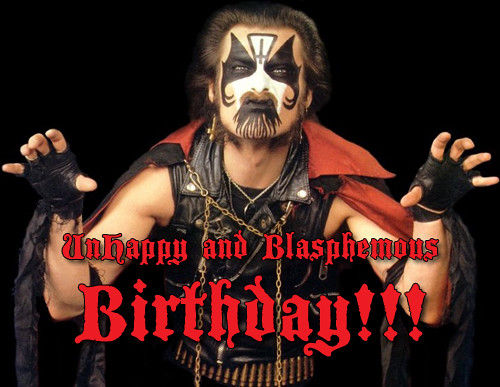 Happy Birthday (King Diamond) 001