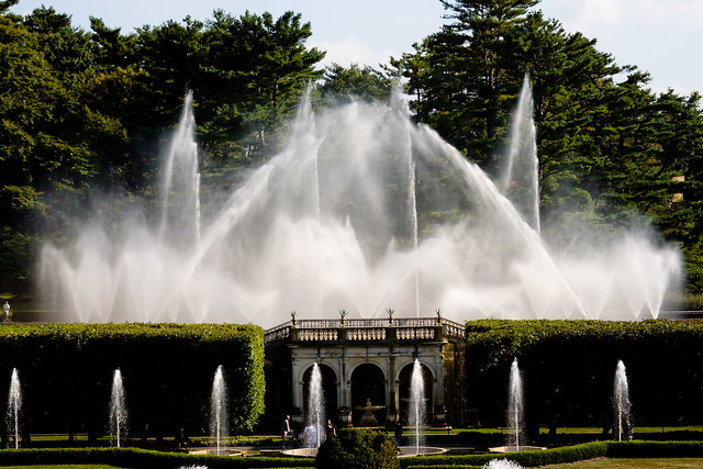Bw533 Longwood Fountains Flickr Photo Sharing