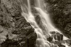 Lal Lal Falls B&W