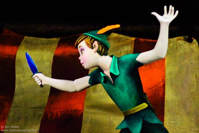 WDW Dec 2009 - Riding Peter Pan's Flight