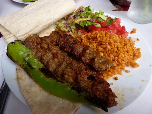 Adana Kebabs from Kara Mehmet Kebab Salonu at the Grand Bazaar