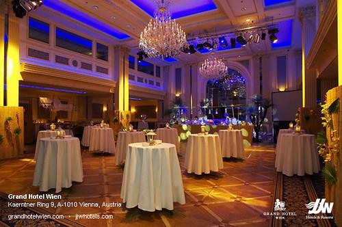 Ballroom (Event) at Grand Hotel Wien in Vienna