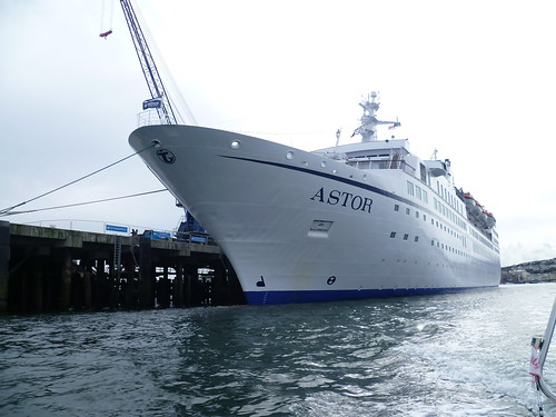 Cruise ship 'Astor' in Falmouth by dea.1