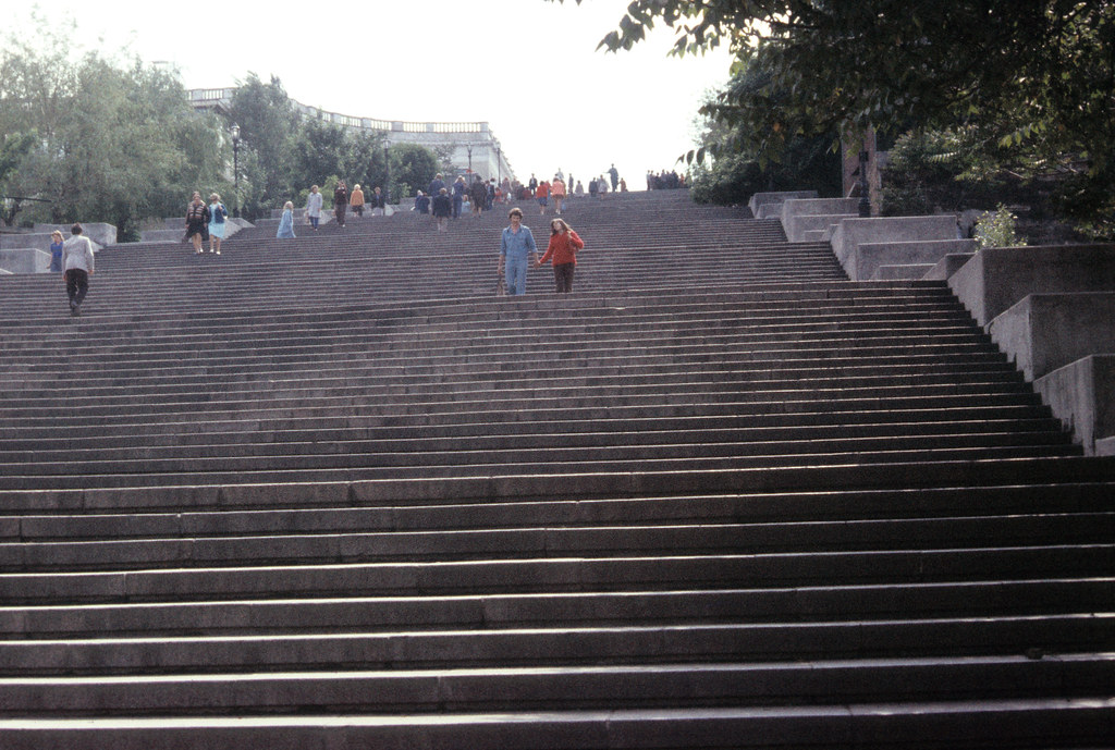 The Potemkin Steps-Odessa, Ukraine-1977