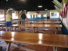 boxing ring(0.0), sport venue(0.0), billiard room(0.0), sports(0.0), ten-pin bowling(0.0), room(1.0), table(1.0), recreation room(1.0),
