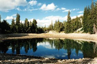 Theresa Lake, Great Basin NP, 14 Sept 1994