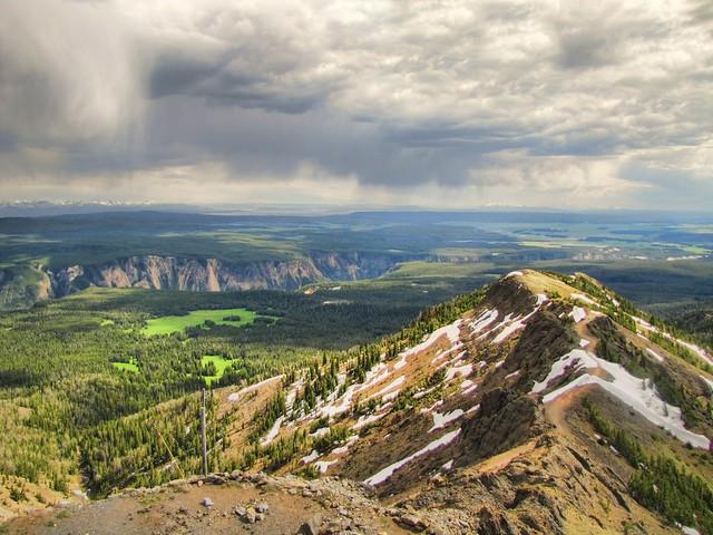 Mount Washburn view