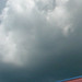 Small photo of Colorful Roof Storm Clouds Alachua