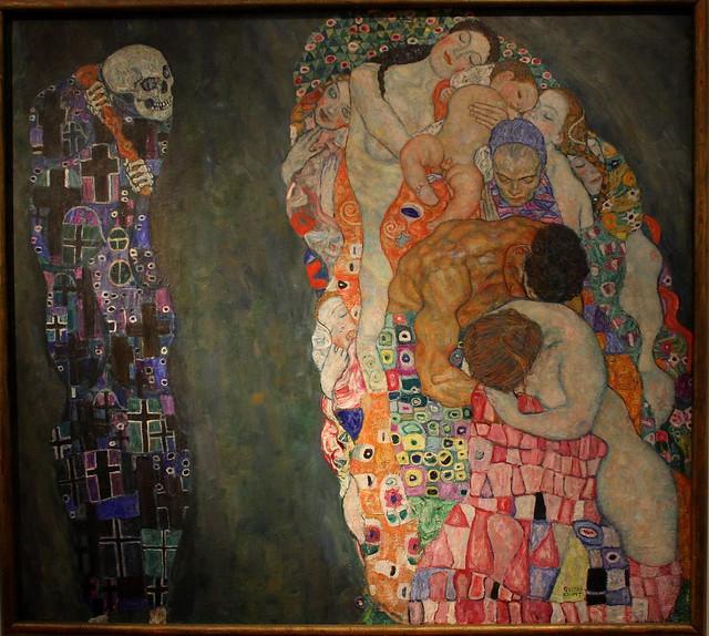 Gustav KLIMT, Death and Life, 1910 - 1915 - a photo on ...
