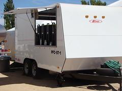 automobile(1.0), vehicle(1.0), transport(1.0), trailer(1.0), land vehicle(1.0), travel trailer(1.0),