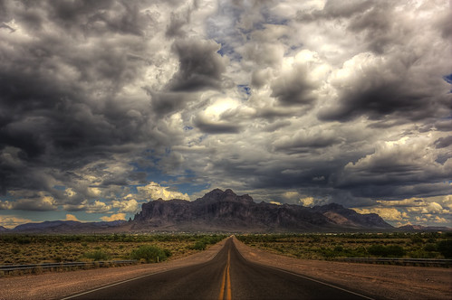 sky mountains clouds supersitions roads storms flatiron hdr monsoons thunderstorms greatphotographers 2010monsoons lostdutchmanroad