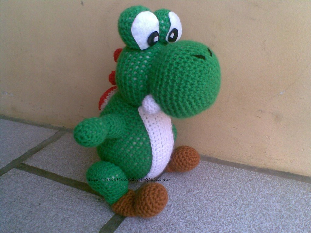 Knitting Pattern Yoshi : Yoshi - a photo on Flickriver