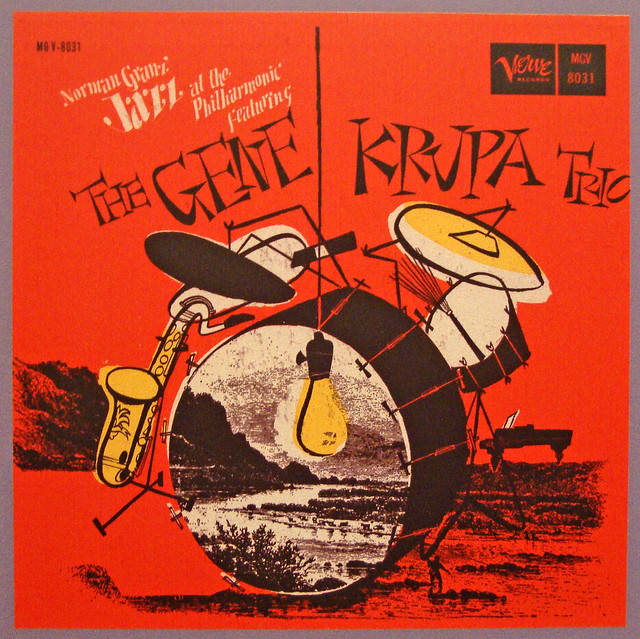 Norman Granz' Jazz at the Philharmonic Featuring The Gene Krupa Trio