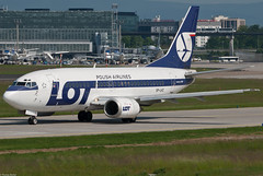 LOT Polish Airlines Boeing 737-55D SP-LKC (42477)