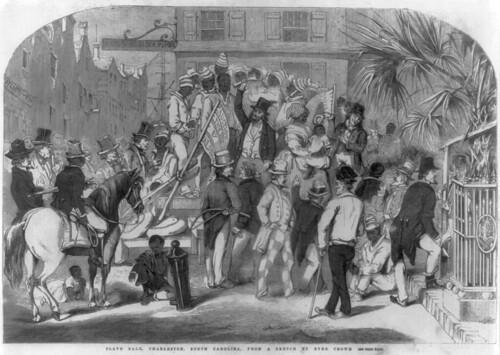 Slave sale, Charleston SC
