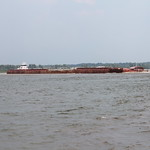 Mississippi River Barges
