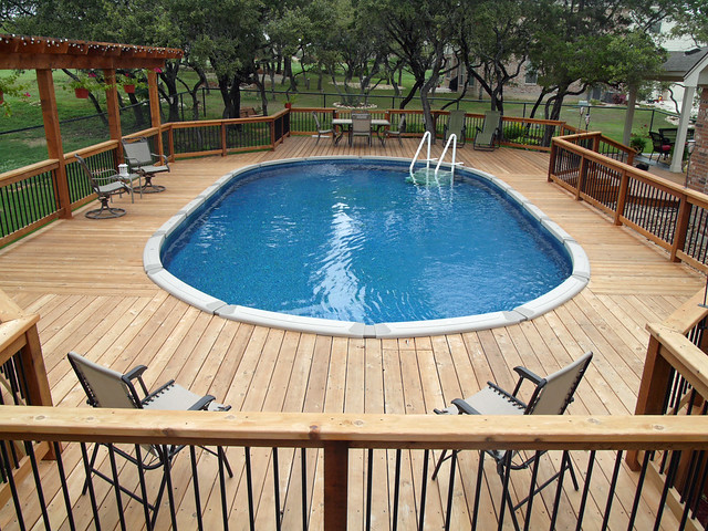Above ground oval pool helotes bexar county flickr - Images of above ground pools ...