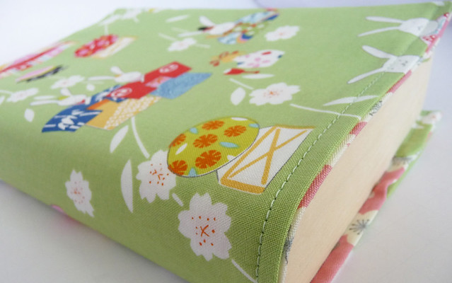 Book Cover Material Japan ~ Fabric book cover tutorial flickr photo sharing