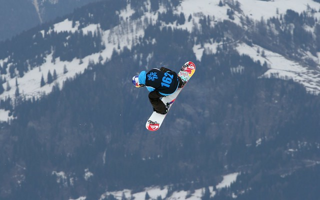 Jamie Nicholls Snowboard Big Air Finals Winner - The Brits, Laax 2010