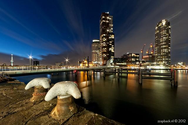 Speedy clouds / Rijnhavenbrug / Rotterdam
