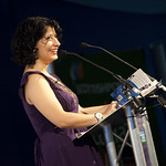 Shappi Khorsandi | Shappi Khorsandi at Edinburgh International Book Festival 2010