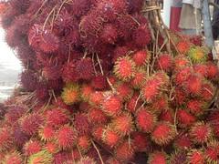 evergreen, rambutan, produce,