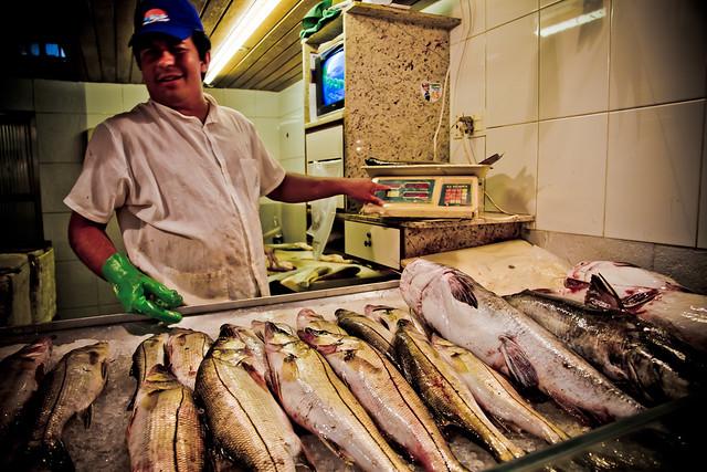 Fish market s o francisco brazil flickr photo sharing for Franks fish market