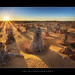 The Pinnacles, Cervantes, Nambung National Park, Western Australia :: HDR by :: Artie | Photography :: Travel ~ Oct