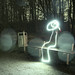 Lightpainting Bench