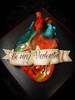 Valentine's heart cake teeny cake for
