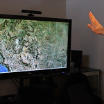 Kinect Google Maps Viewer