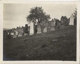 Photographs From a Haas Family Vacation to Bavaria, Germany: Reckendorf, Jewish Cemetery (circa 1911)