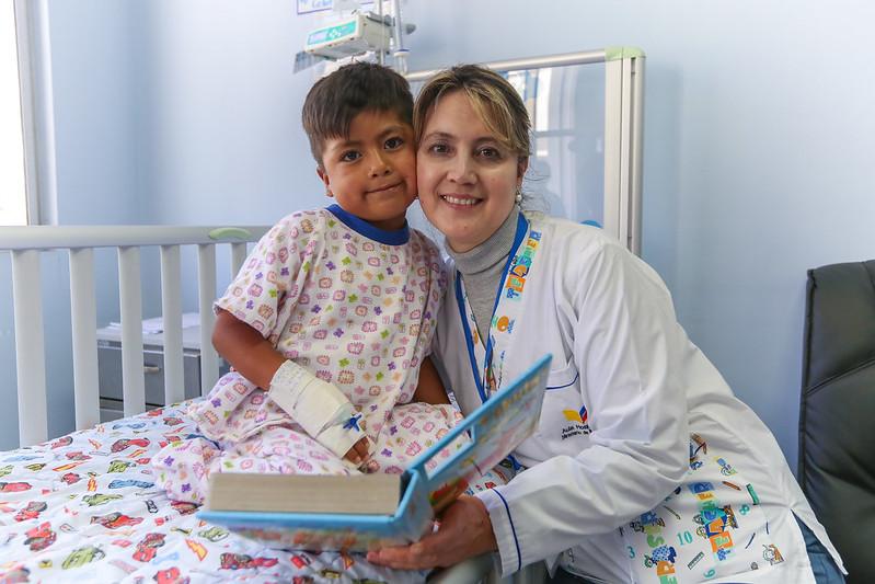 Recorrido Aulas Hospitalarias. Hospital Pablo Arturo Suárez