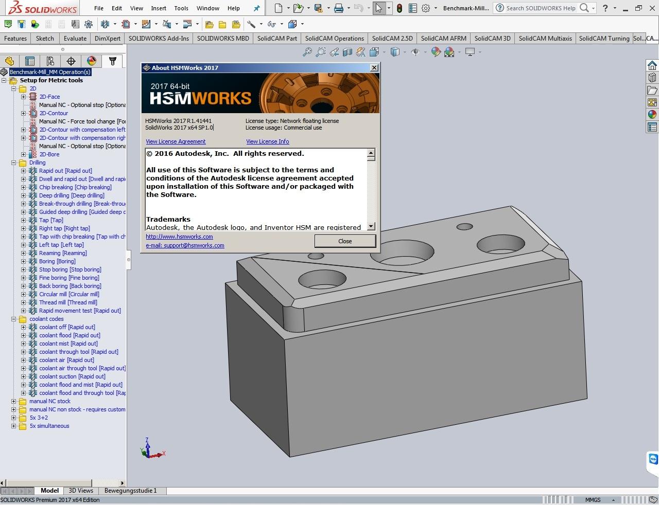 Autodesk HSMWorks 2017 R1.41441 for SolidWorks 2010-2017 full