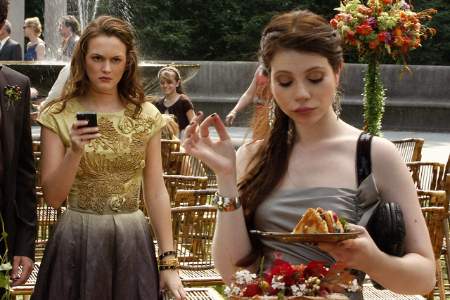 tg4 gossip girl medium shot of leighton meester as blair