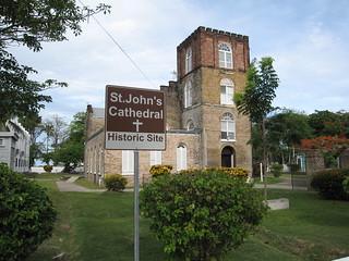 Obrázek St. John's Cathedral. cathedral belize belizecity stjohnscathedral gjallarhorntours