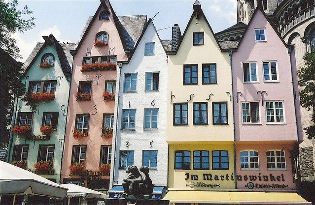 coloured houses cologne germany flickr photo sharing. Black Bedroom Furniture Sets. Home Design Ideas
