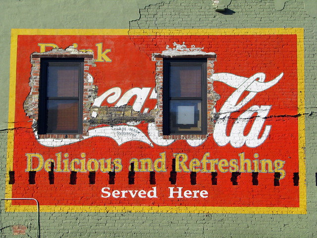 Coca-Cola Mural - Downtown Chattanooga